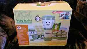 Complete Baby Bullet set, PLUS Munchkin Baby Food Freezer Tray
