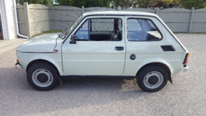 "1981 Fiat 126P "" Maluch"" up for grabs. $12,000 OBO"