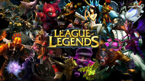 League of Legends account GOLD