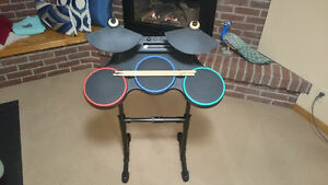 Nintendo Wii Guitar Hero drum kit