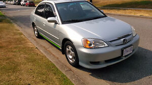 2004 Honda Civic SE Hybrid Sedan