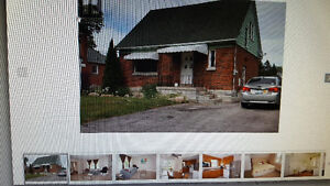 3bedrooms+1washroom house at Simcoe/ N. Rossland for Sep