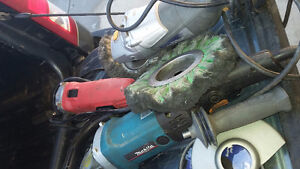 Welding grinder impact wrench torch helmet mask respirator