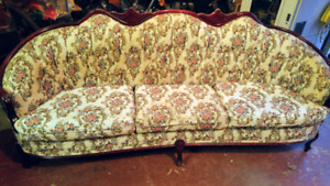 Antique French Provincial Chesterfield