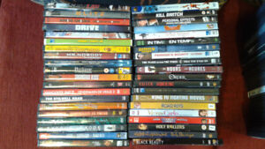 Assorted DVD movies/shows