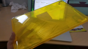 Brand New A1286 MacBook Pro Yellow Case + Screen Protector