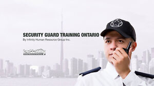 Get Your Security Guard License Online Cambridge Kitchener Area image 1