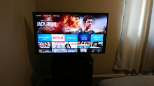 55inch Insignia TV + Wallmount and Amazon Firestick