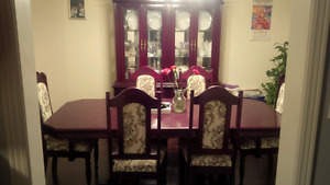 Selling dining table set and other furniture