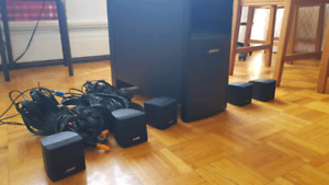 BOSE Acoustimass 6 5.1 speakers (good condition) with all cables