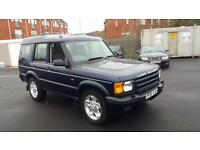 2002 51 LANDROVER DISCOVERY 2.5 TD5 XS 5 SEATER,GREAT RUNNER.TOWBAR.2 KEYS ETC .