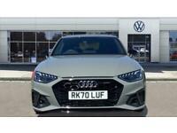 2020 Audi A4 40 TFSI Black Edition 5dr S Tronic Petrol Estate Auto Estate Petrol