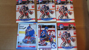 Mike Richter rookie cards(6)