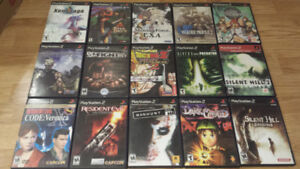 Over 50 Great Playstation 1 & Playstation 2 Games for Sale/Trade