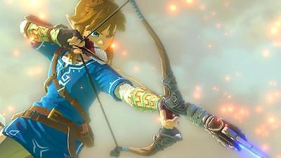 Zelda und sein magischer Bogen.