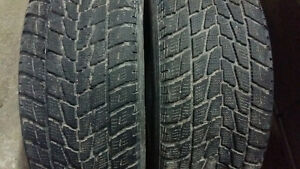 2  WINTER TIRES  245/65/17