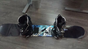 Sims 160cm Snowboard & boots