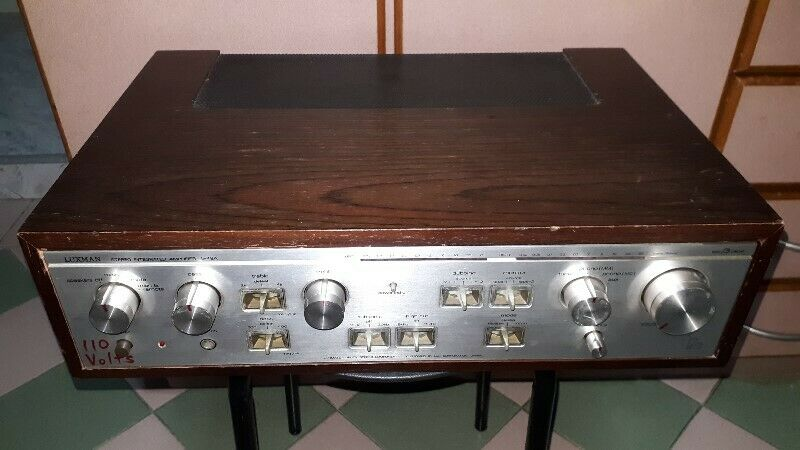 HI END SOLID STATE SOUNDS OF VINTAGE LUXMAN L-48A INTEGRATED AMPLIFIER.