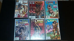 For Sale: Lot of Marvel Comics Conan the Adventurer