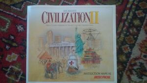 Civilization II CD's and Booklet