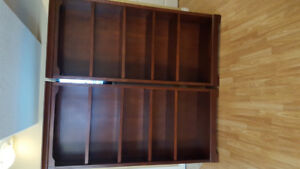 2 book cases.  72x32x13  Good condition. Adjustable shelves.