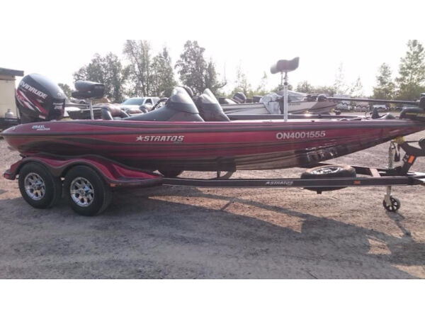 Used 2013 Stratos Boat Co 294 xl