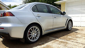 2009 Mitsubishi Evolution GSR Sedan