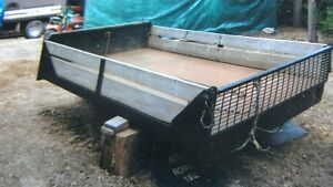 Flatbed for 3 quarter ton truck and heavy duty bumper.