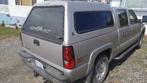 Leer Canopy for Chevy Short Box (Truck not for sale)