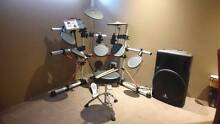 Yamaha DTXpress IV electronic drum kit and speaker West Perth Perth City Preview