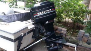 14 Foot  Grew Boat 50 HP Mercury