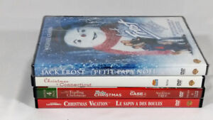 Holiday Christmas Movie Bundle 4 DVD Prev Owned Great Conditio2