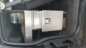 BEHIND SEAT FOR VAN OR PICK UP TOOL BOX