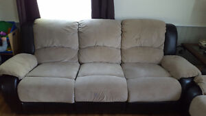 Recliner Couch & Loveseat