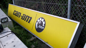 Back Lit Can-Am Sign