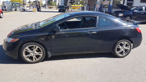 2007 Honda Civic DX-G Coupe (2 door) 4995.00 plus hst and lic