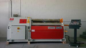 4 rolls hydraulic plate roll (new)