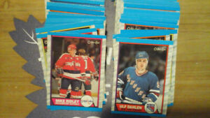 Vintage Hockey....1989-90 OPC 300 Card Lot (no doubles)