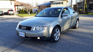 2003 Audi A4 Sedan,3.0 V6 Mint Condition,E-Tested, $3500 O.B.O