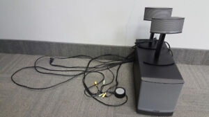 Bose speakers and Denon receiver