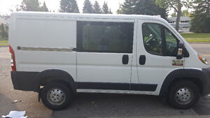 2014 Ram 1500 Low Roof Promaster Van with 118 WB