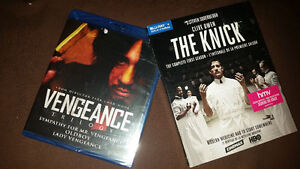 The Knick - Season one , Vengeance trilogy - Blu Ray - New