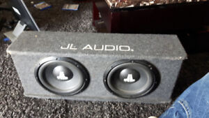 JL audio subs work perfect sound great !!!