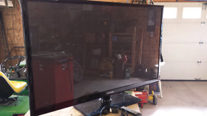 "1080P Samsung 52"" Plasma TV for parts."