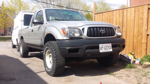 2002 Toyota Tacoma 2.7L 4cyl 4x4 extended cab