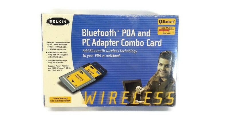 Belkin Bluetooth PDA and PC Adapter Combo Card