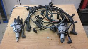 MG MGB distributors and spark plug wires