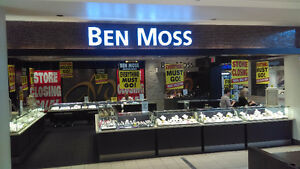 BEN MOSS JEWELLERS - GOING OUT OF BUSINESS SALE