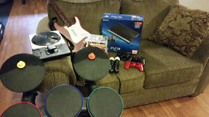 PS3 w/ Games and Accessories