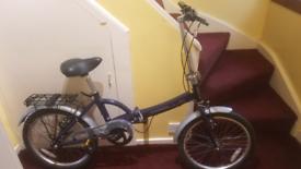 Apollo folding bike as new